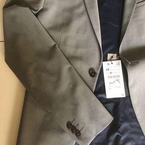 Zara premium high quality suits sz 38 waist 31
